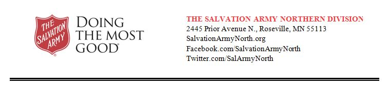 Salvation Army Headline