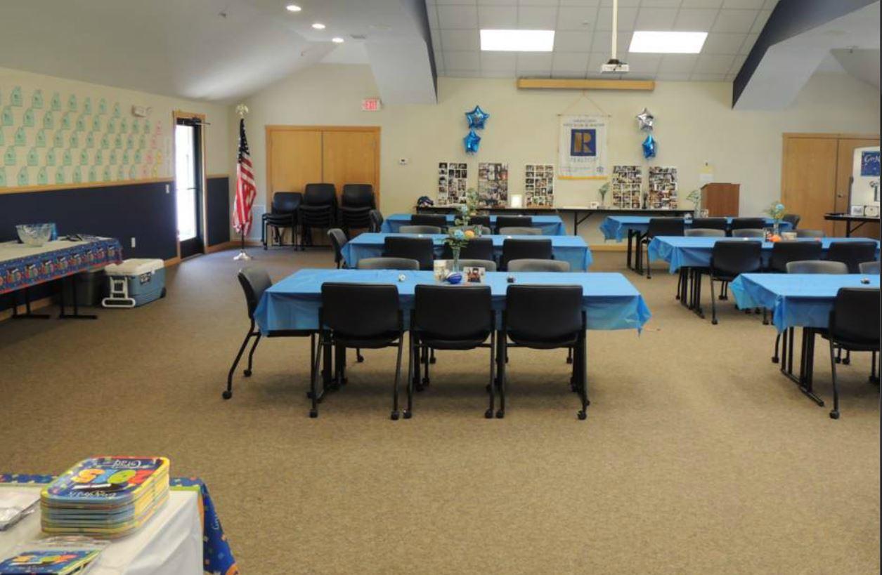 Grad Party Setup