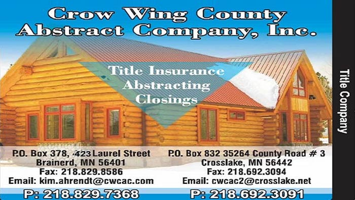 Crow Wing Co. Abstract